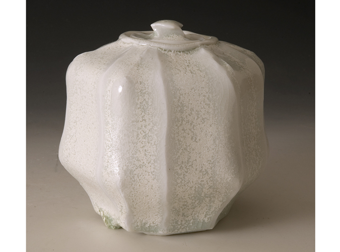 Hexagonal 'Pillow' Box Crystal Glaze