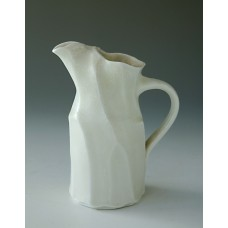 Jug Small, Crystal Glaze - Folds and Facets
